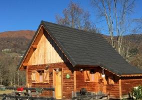 Les Cabanes de Souegnes- Chalet Le Pinson - Massat, Ariège