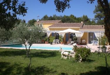 Le jardin des cigales - Ménerbes, Vaucluse