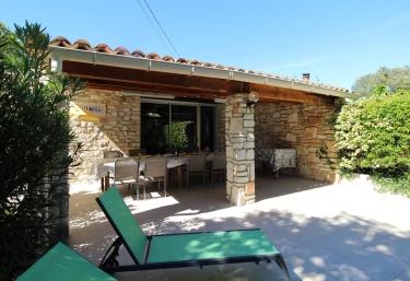 Le Mas des Roches - Gîte Mimosa - Labastide-de-Virac, Ardèche