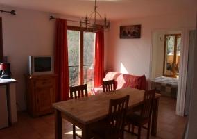 Le Bellevue Martinon- Gîte 2 chambres (4pers)