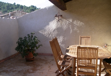 Les Glycines - Gîte Terrasse - Lagrasse, Aude