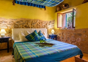Finca Can Duvai- Blaues Apartment