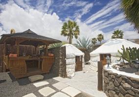 Eco Finca de Arrieta- Eco Twin Yurt