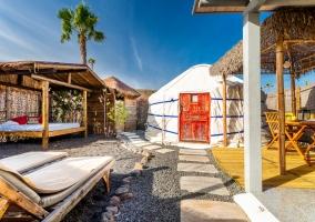 Eco Finca de Arrieta- Eco Palm Yurt